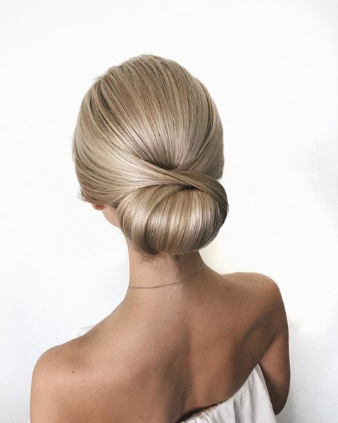 Wedding hairstyle easy to make