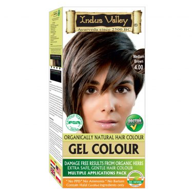 Indus Valley Permanent Gel Hair Color
