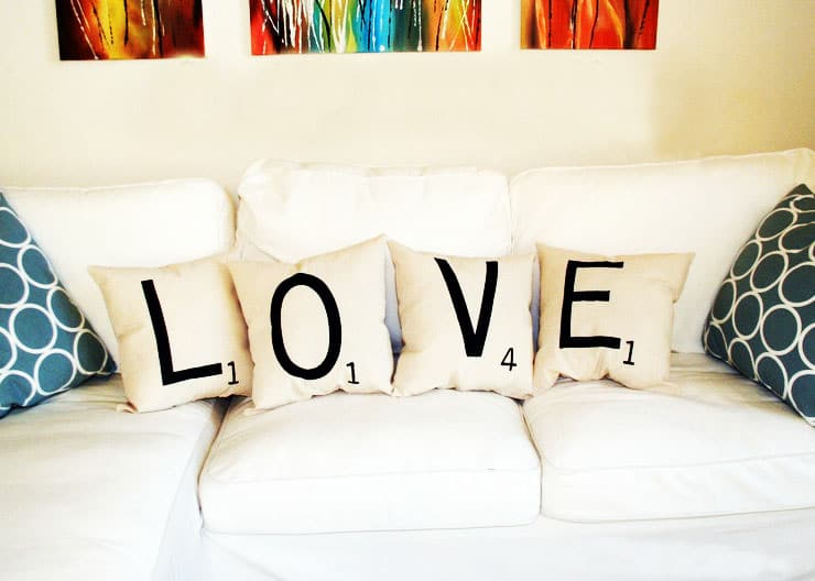 alphabet letter home decor