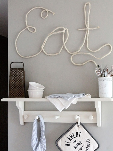 letter signs home decor