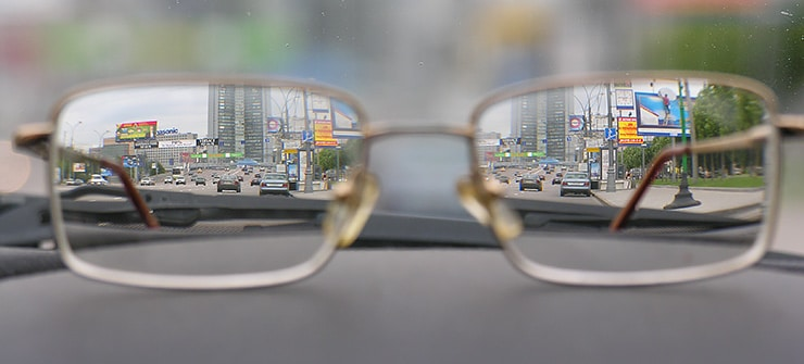 never leave glasses in the car