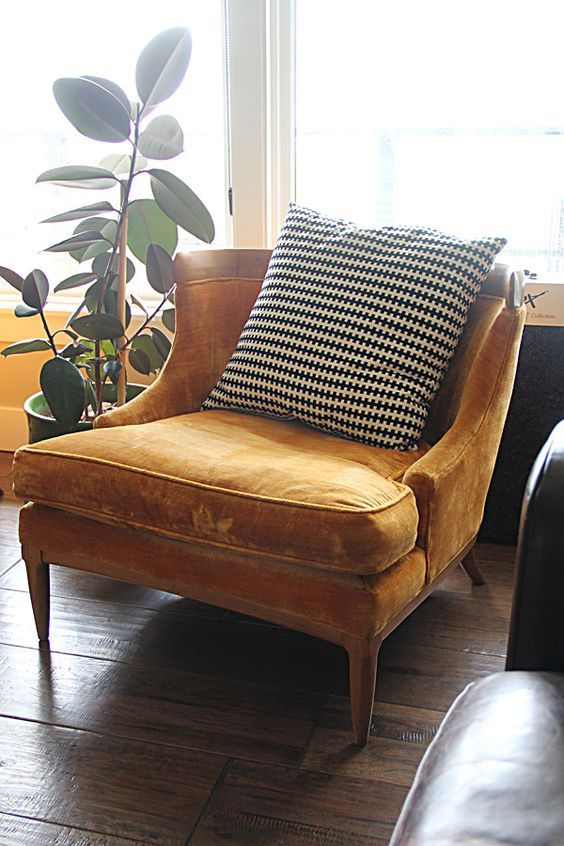 velvet chair cheap decor
