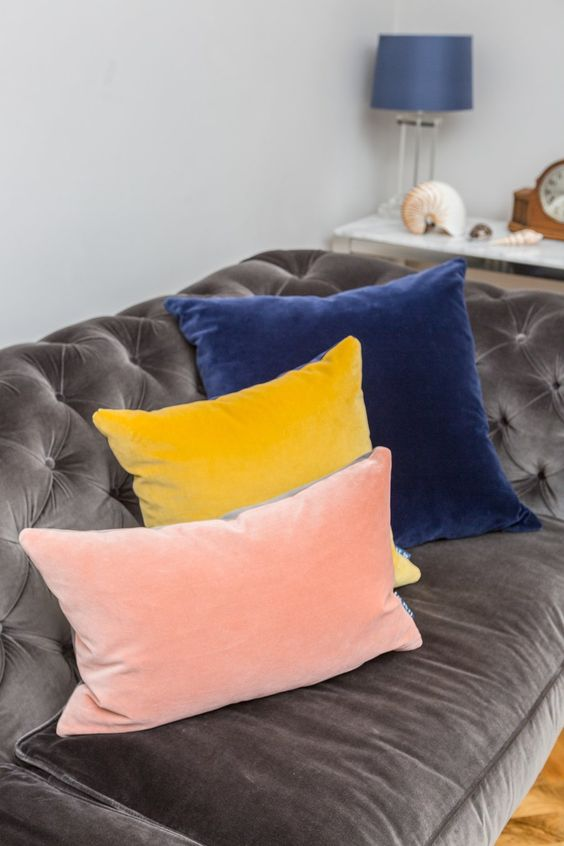 velvet cushions cheap decor bedroom