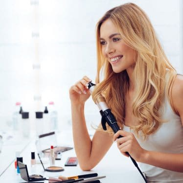 How to clean curling iron