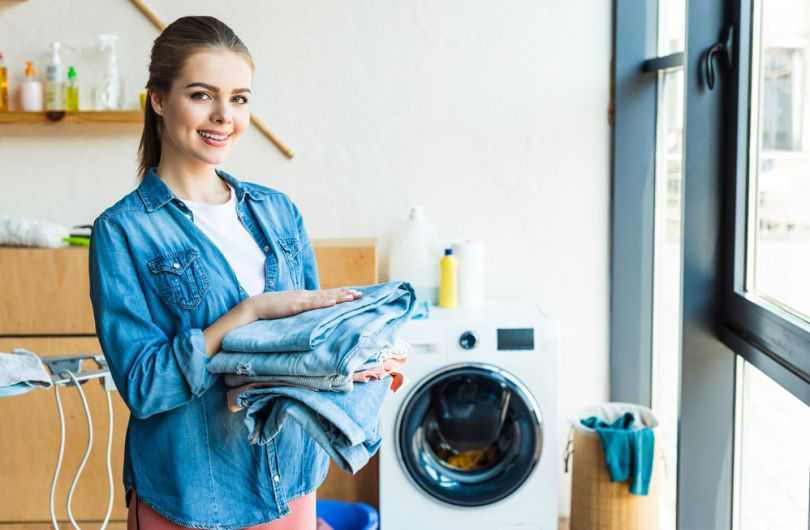 High-efficiency laundry detergents