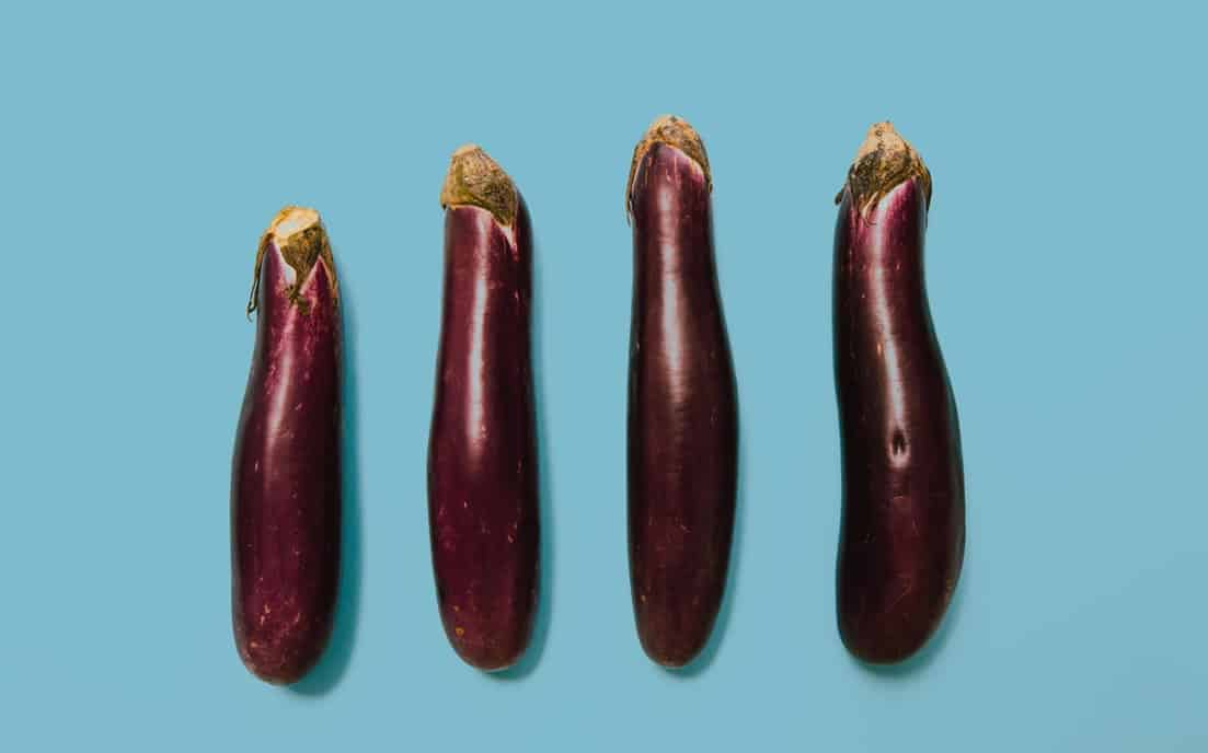 how to store cut eggplant