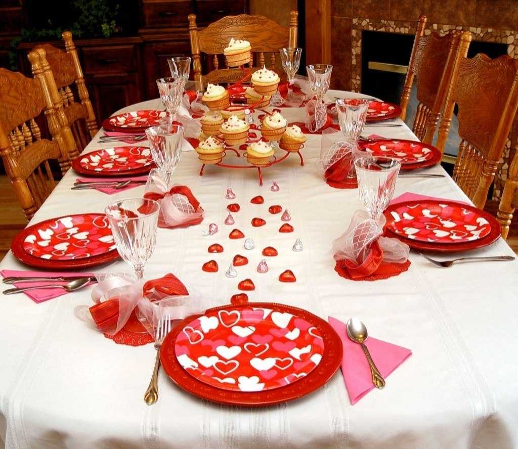 Valentine day decoration for home