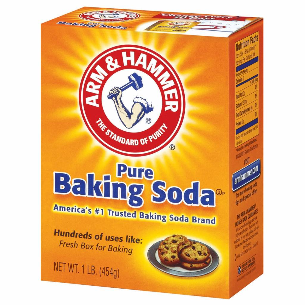 baking soda for cleaning grease from the oven