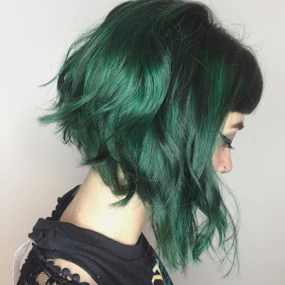 How to cover green hair
