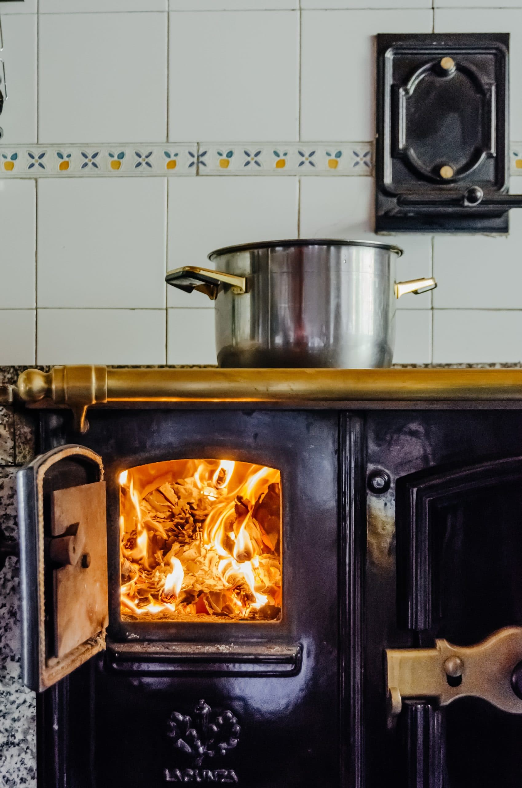How to clean burnt-on grease from glass top stove
