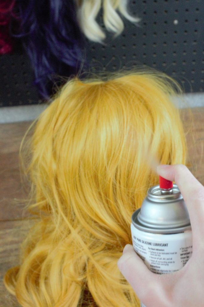 Dyeing a Synthetic Wig