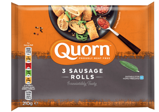 How long do cooked Quorn sausages last in the fridge